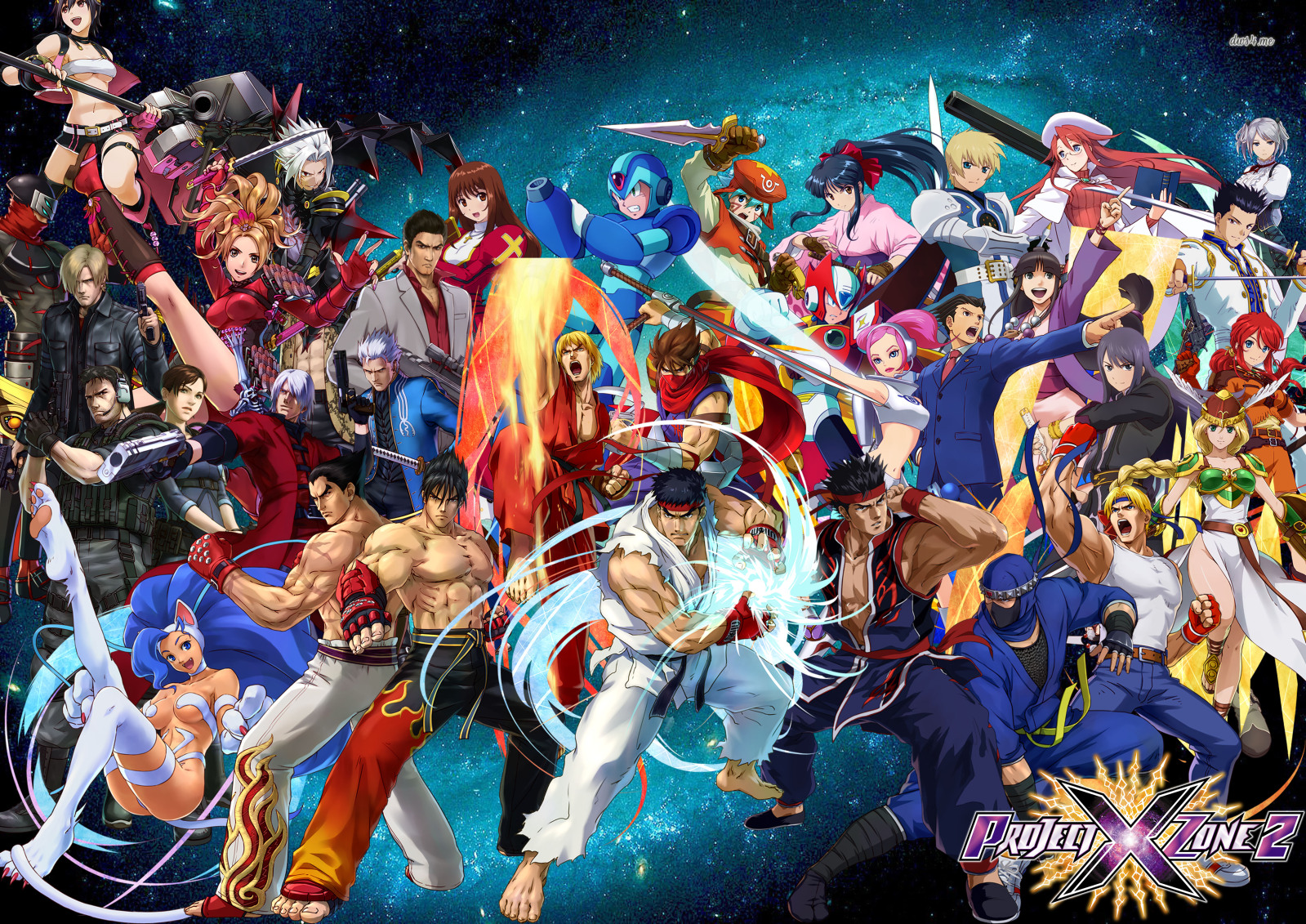 When Companies Fall In Love, We Get Project X Zone 2