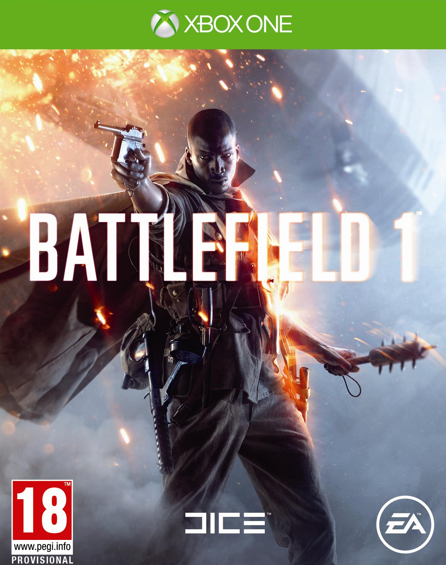 Box art - Battlefield 1