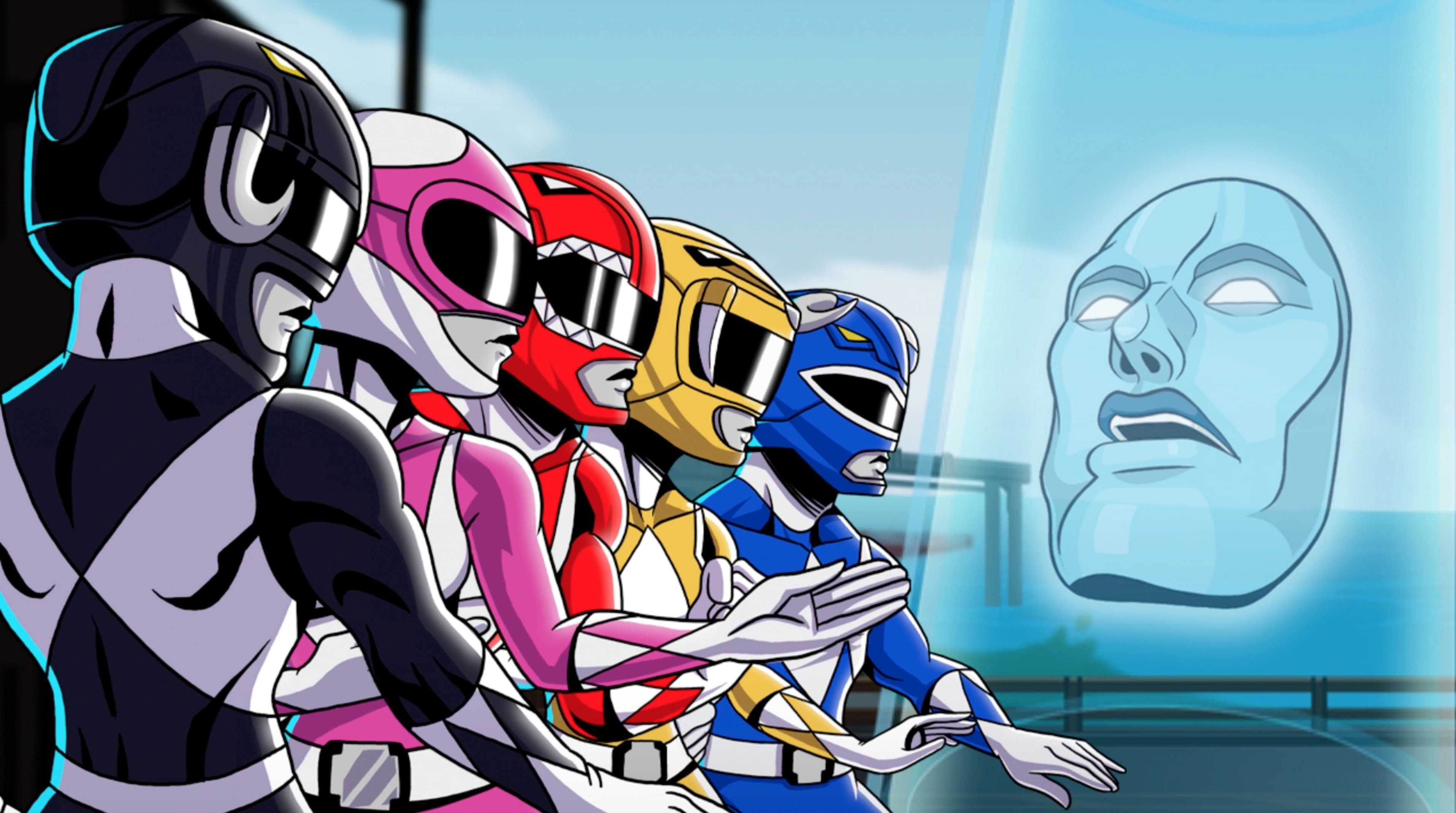 Box art - Saban's Mighty Morphin Power Rangers: Mega Battle