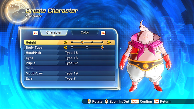 Dragon Ball Xenoverse 2 Choosing the Best Race In Character Creation