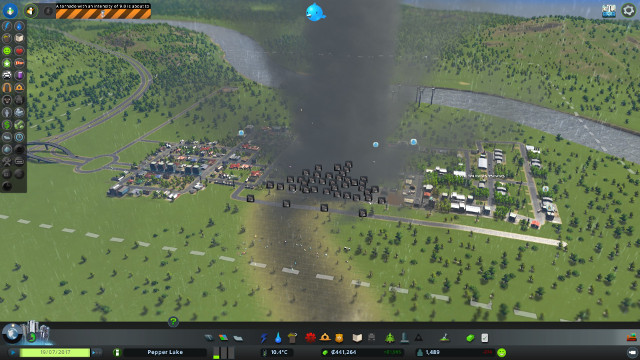 Game About Natural Disasters In City