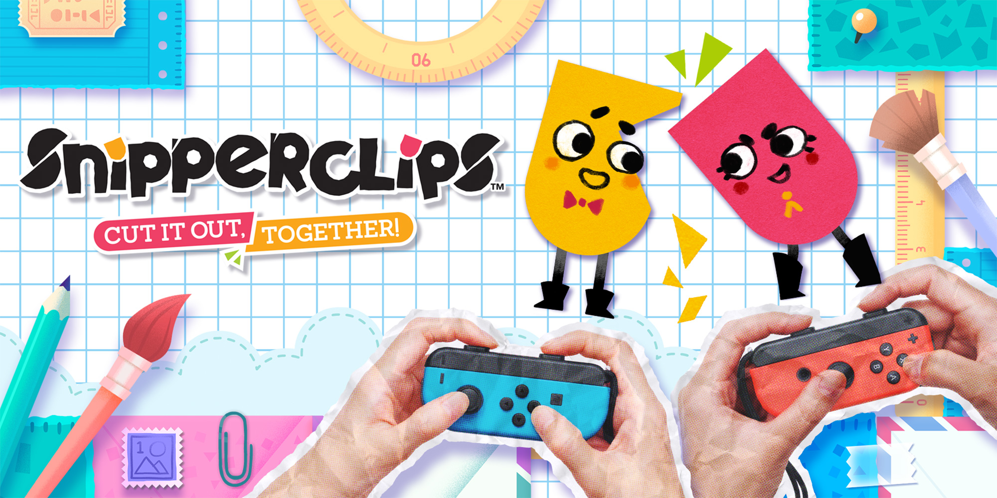 Box art - Snipperclips