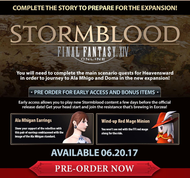 FFXIV: Stormblood Will Have Insanely Time Consuming Story
