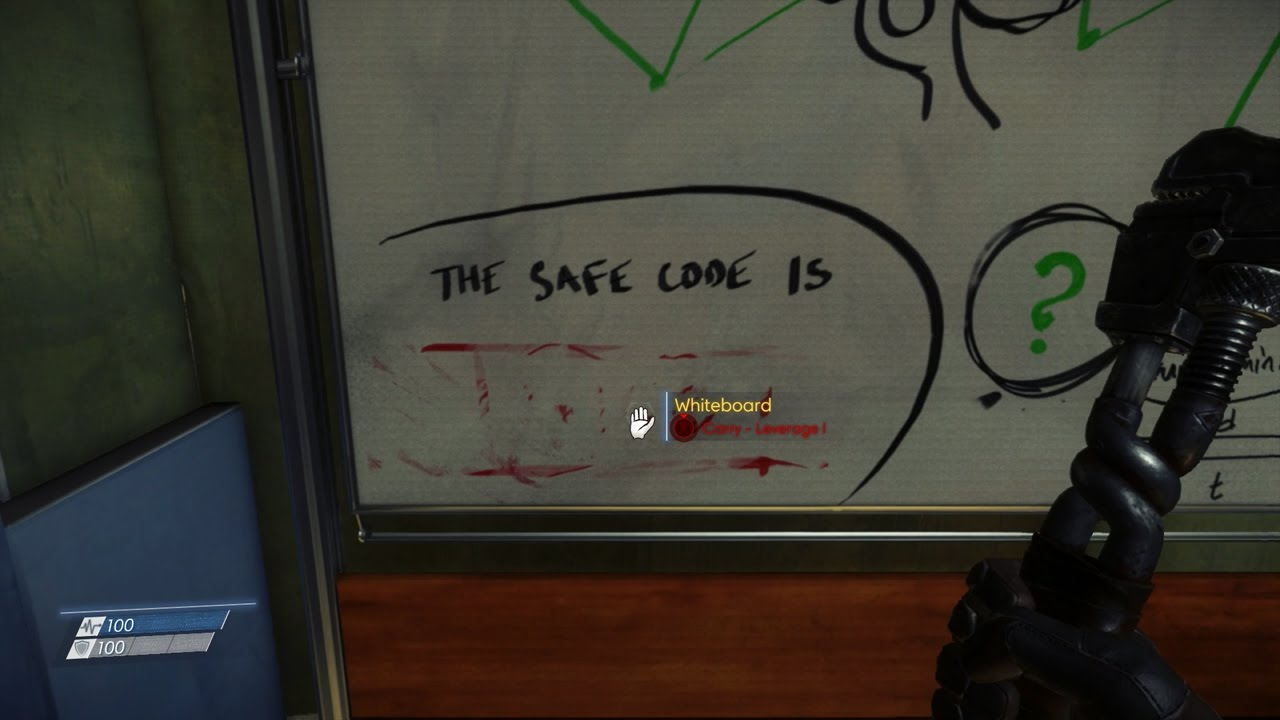 Prey 2017 Dr Kelstrup S Safe Code Gamerevolution
