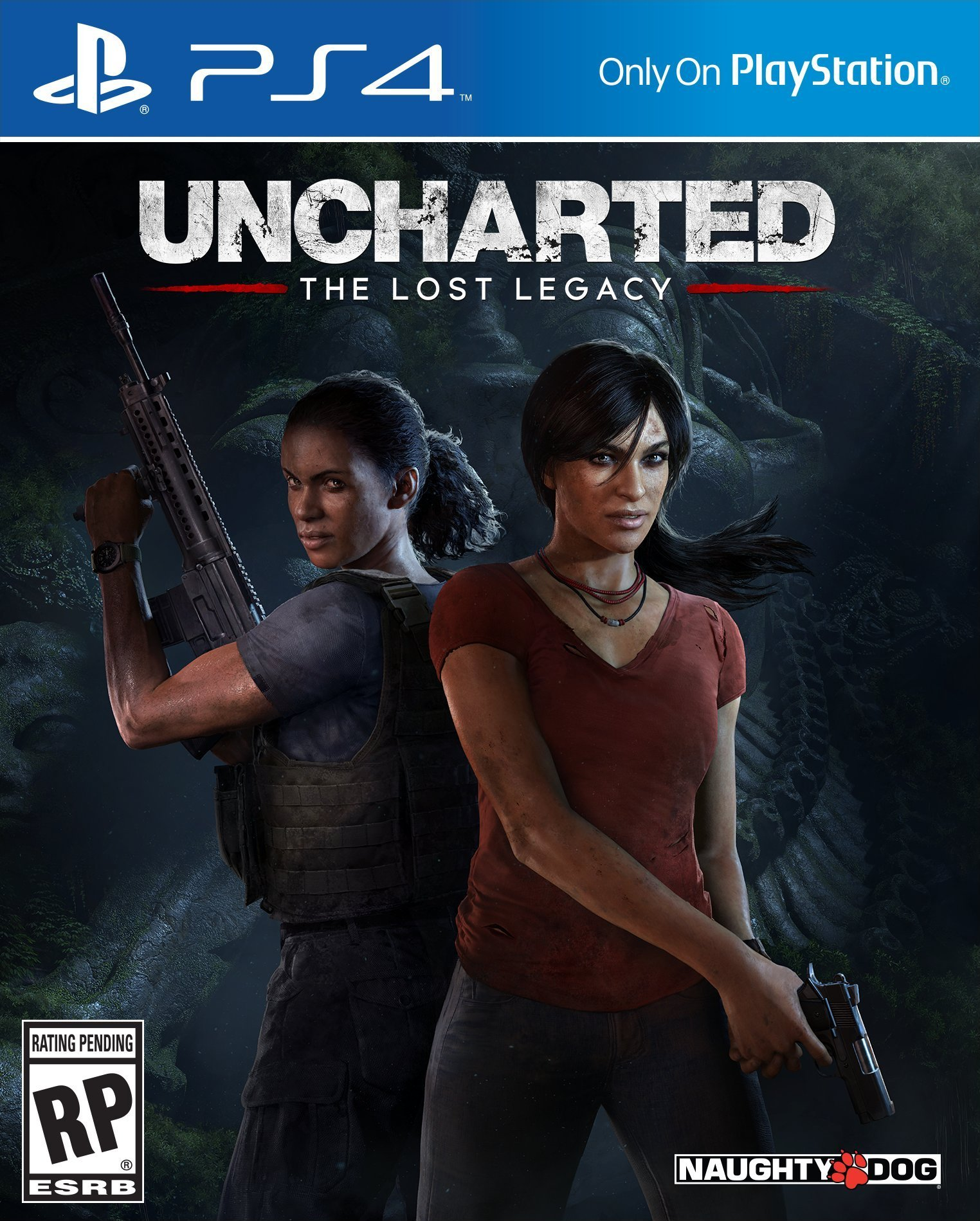 Box art - Uncharted: The Lost Legacy