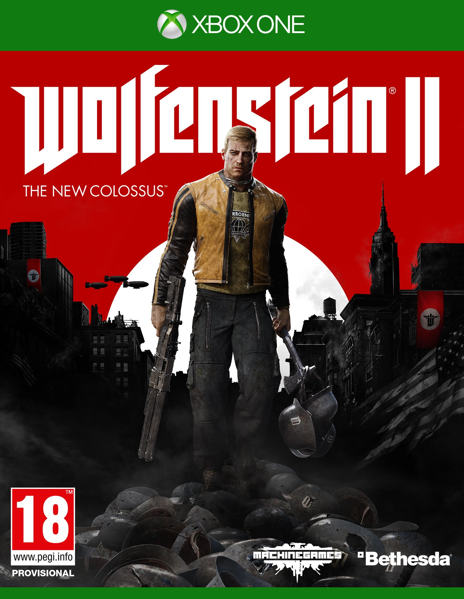 Box art - Wolfenstein II: The New Colossus