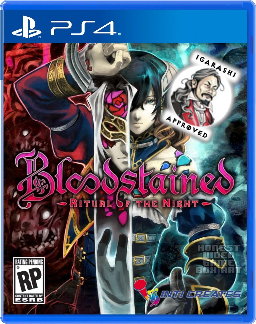 Box art - Bloodstained: Ritual of the Night