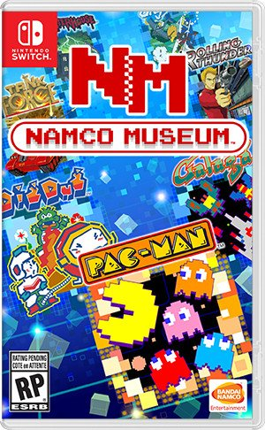 Box art - Namco Museum (Switch)