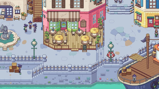 Stardew valley meets harry potter in chucklefish 39 s new for How to fish in stardew valley ps4