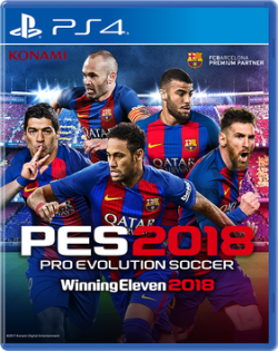 Box art - Pro Evolution Soccer 2018