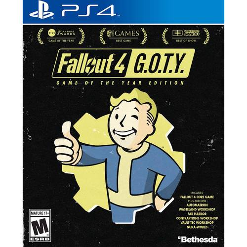 Box art - Fallout 4: Game of the Year Edition