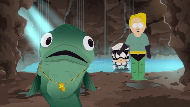 South park studios gay fish