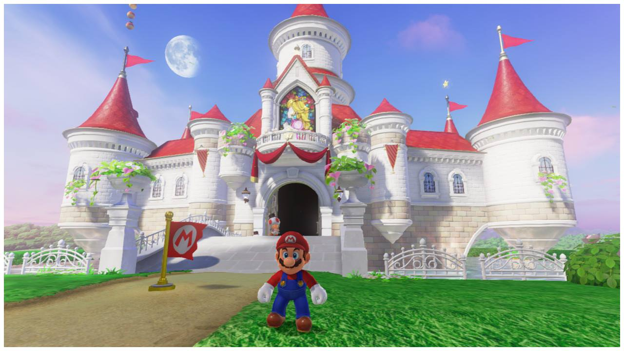 Super mario odyssey guide how to get to peach 39 s castle - Passage secret mario bros wii ...