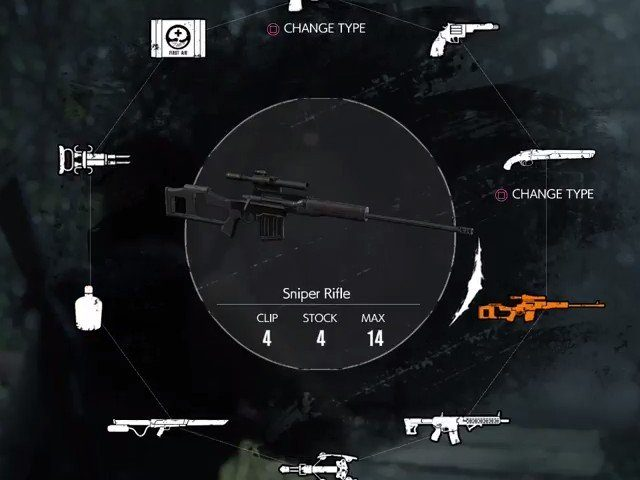 The Evil Within 2 Sniper Rifle