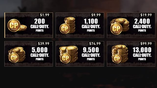 Call of Duty WW2 Call of Duty Points CoD Points