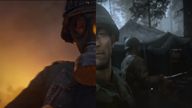 Call of Duty WW2 Splitscreen Multiplayer Co-Op