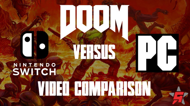 Doom Switch vs PC Comparison