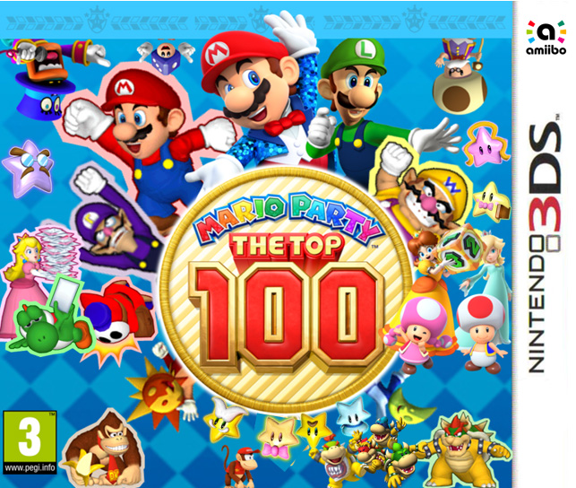 Box art - Mario Party: The Top 100