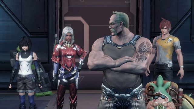 Xenoblade Chronicles X Crew