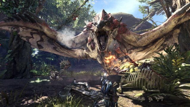 games 2018 monster hunter world