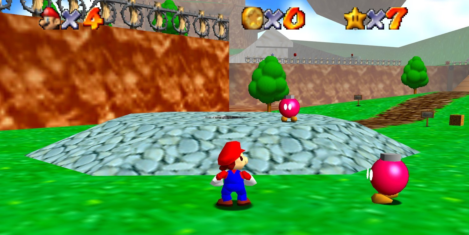 Super Mario 64 Easter Egg