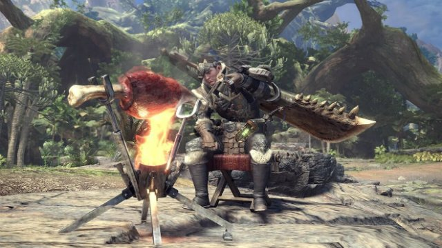 Monster Hunter World How to Cook and Eat Meals