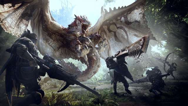 Monster Hunter World's Bizarre Co-op Multiplayer Spoils the Fun
