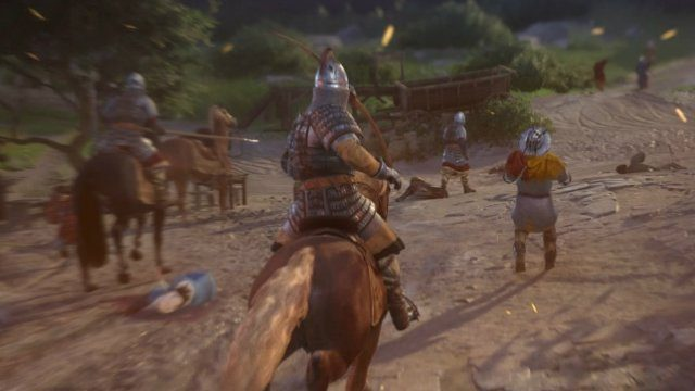 Kingdom Come Deliverance Battle