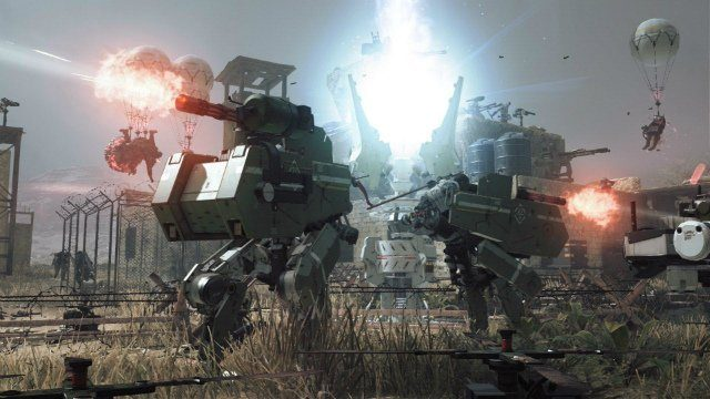 Metal Gear Survive Walker Gears