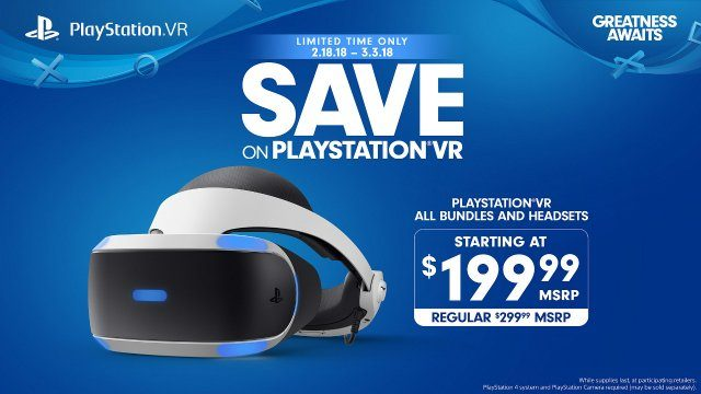 Sony slashes prices on PSVR headset for a limited time