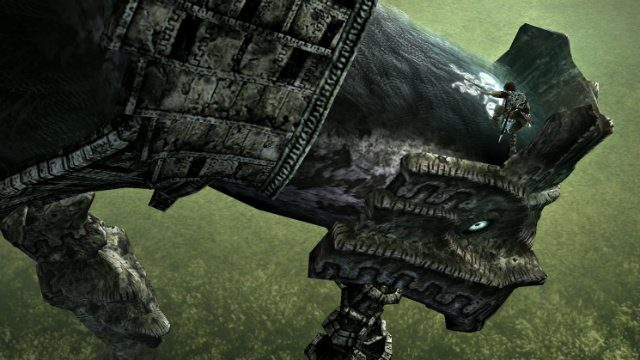 Shadow of the Colossus 4th Boss Weak Spot