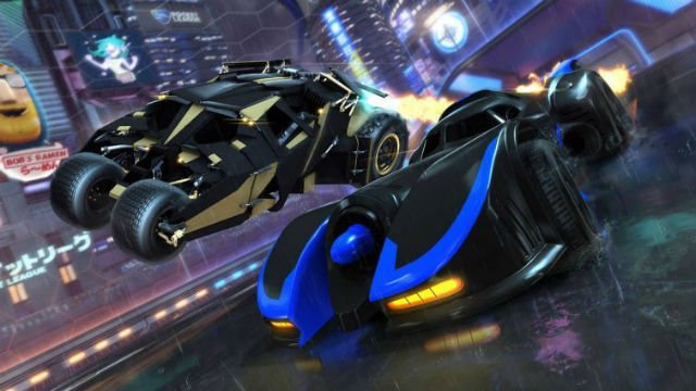Batmobiles old and new are heading to Rocket League