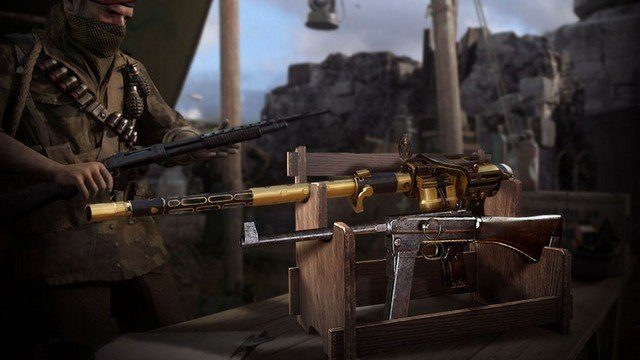 CoD WW2 1.11 New Weapons