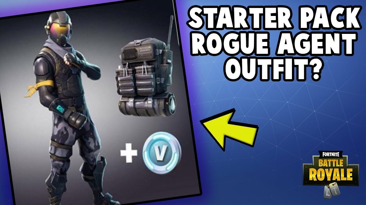 Fortnite Starter Pack Rogue Agent Outfit