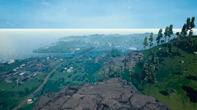PUBG 4x4km Map Hills and Town