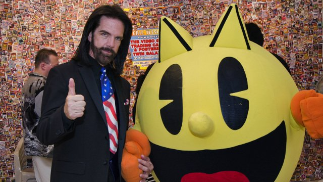 Billy Mitchell and Pac-Man