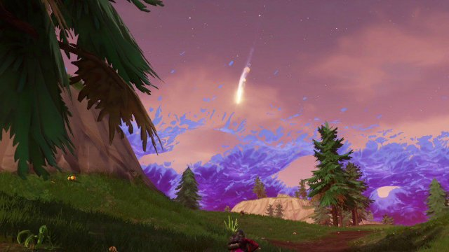 Fortnite Meteors Falling Will Meteorites Destroy Tilted