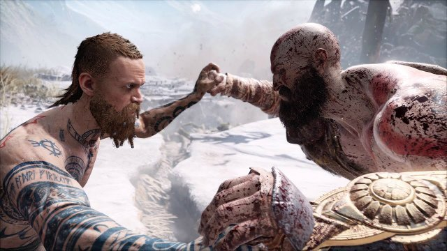 God Of War The Stranger Who Is The First Boss Gamerevolution