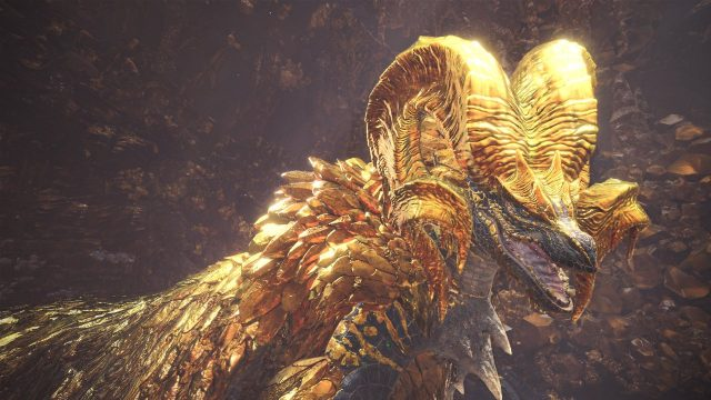 Kulve Taroth Elder Dragon Monster Hunter World