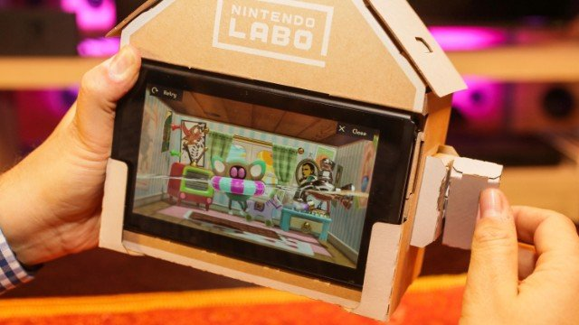 Nintendo Labo reminds me of how pointless and fragile life is