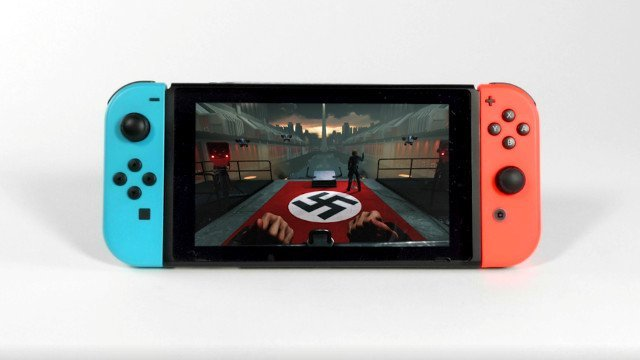 Wolfenstein 2 on Switch includes Joy-Con Motion controls