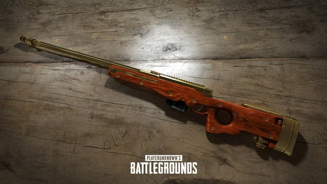 pubg gold weapons