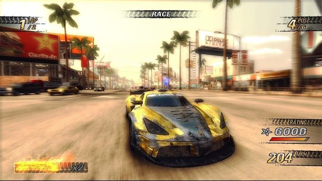 Burnout Revenge Gameplay Screenshot