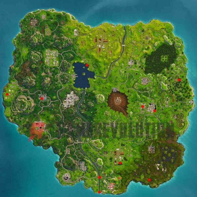 Fortnite Duck Locations