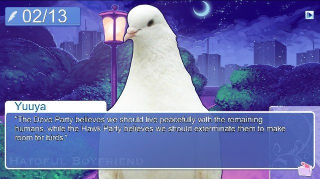 best pc visual novels hatoful boyfriend