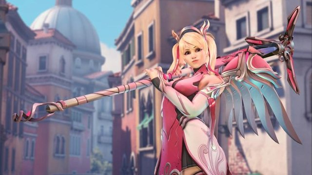 sony insists it s not profiting from overwatch s breast cancer mercy