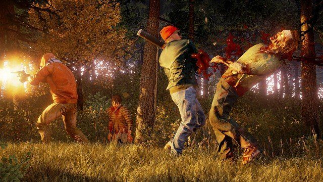 State of Decay 2 Fighting Zombies