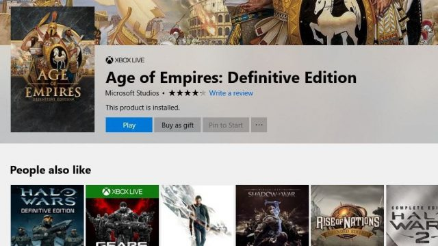 Xbox One PC Digital Gifts