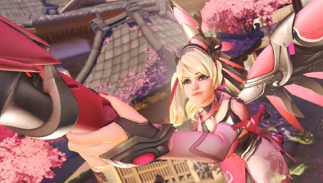 Overwatch's Pink Mercy skin costs $15, proceeds go to charity