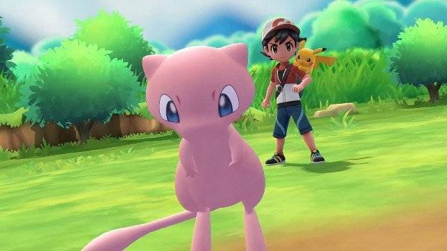 Pokemon Let's Go E3 2018 Preview